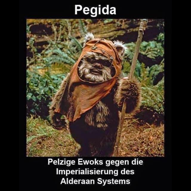 pegida goes star wars