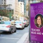 Britische Poster-Kampagne wirbt für Einwanderung