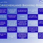 Griechenland Bullshit Bingo: Best of Grexit-Haudrauf
