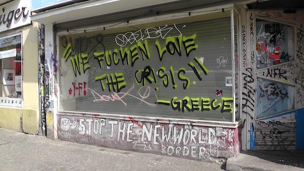 kreuzberg griechenland graffiti