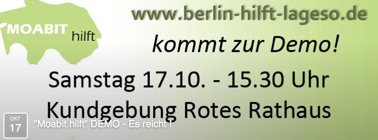 """""""Moabit hilft"""" DEMO - Es reicht ! 2015-10-13 21-41-36"""