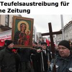"""Polnischer Priester exorziert Tageszeitung wegen """"Lügen der Medien"""""""