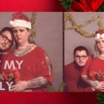 Weihnachten als Single – eine Grußkarten-Idee