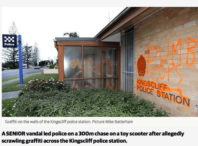 graffiti opa kingscliff