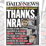 New York Daily News Schlagzeile zum Amoklauf von Florida