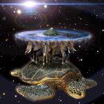 Die Verschwörungstheorie von einer flachen Erde