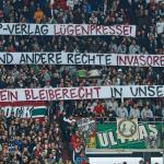 Ultra-Fans gegen Rechts