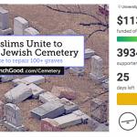 United we stand – Muslime sammeln Geld für verwüsteten jüdischen Friedhof