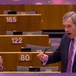 """He is lying to you"" – ein Schild gegen den Brexit-Populismus"