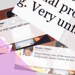 Donald Trump Tweets als Nullerjahre Emo-Pop